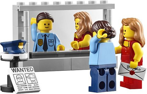#10246 LEGO Detective's Office Mirror