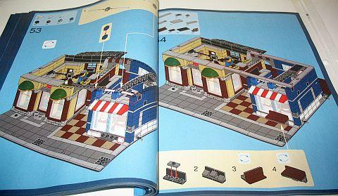 #10246 LEGO Modular Instructions