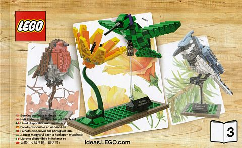#21301 LEGO Ideas Birds Hummingbird
