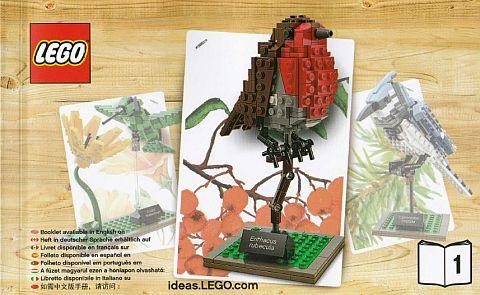 #21301 LEGO Ideas Birds Robin