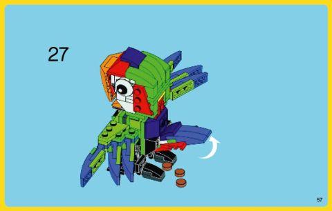 #31031 LEGO Creator Parrot 2