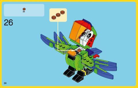 #31031 LEGO Creator Parrot