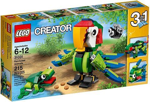 #31031 LEGO Rainforest Animals Box