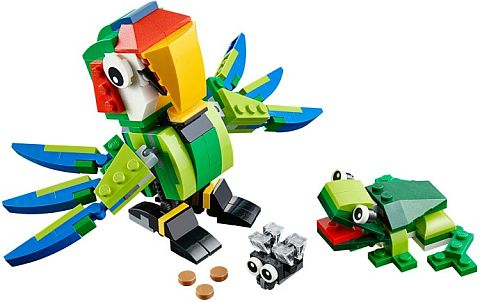 #31031 LEGO Rainforest Animals