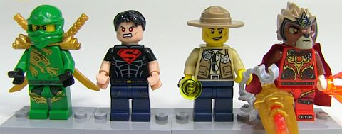 #5004076 LEGO Minifigure Gift Set Details