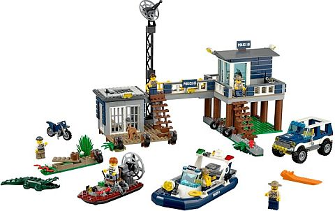 #60069 LEGO City Swamp Police