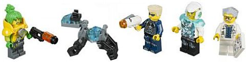 #70169 LEGO Ultra Agents Minifigs