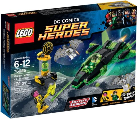 #76025 LEGO Super Heroes Box