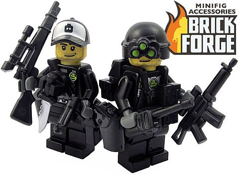 Custom LEGO Minifigures by BrickForge