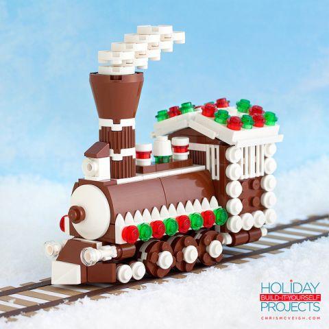 LEGO Chrismas Tree Ornament by Chris McVeigh