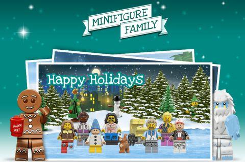 LEGO Christmas Cards
