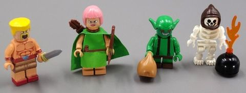 LEGO Clash of Clans Minifigs