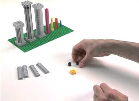 LEGO Columns How To Build