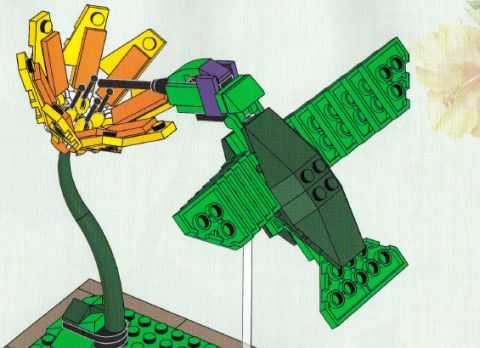 LEGO Ideas Birds Hummer