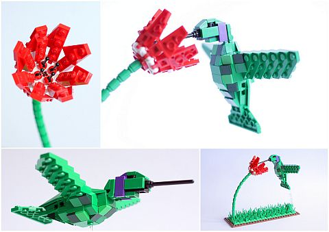 LEGO Ideas Birds Hummingbird