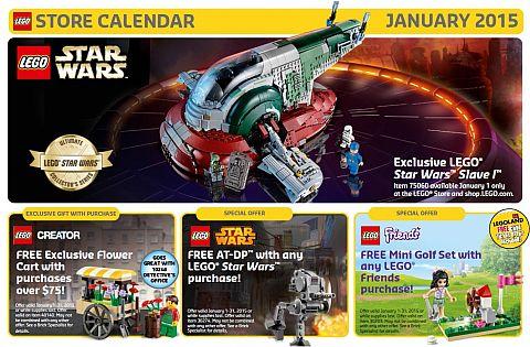 LEGO January Calendar