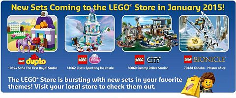 LEGO January New Sets