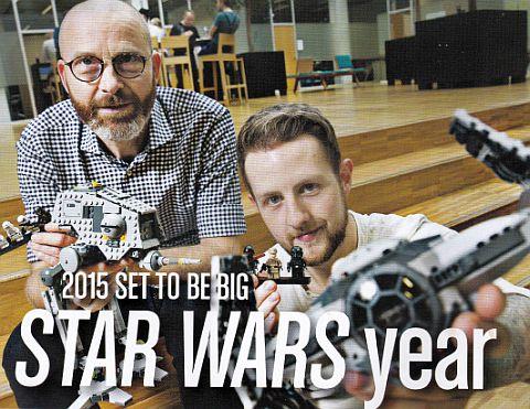 LEGO Life Magazine - 2015 LEGO Star Wars