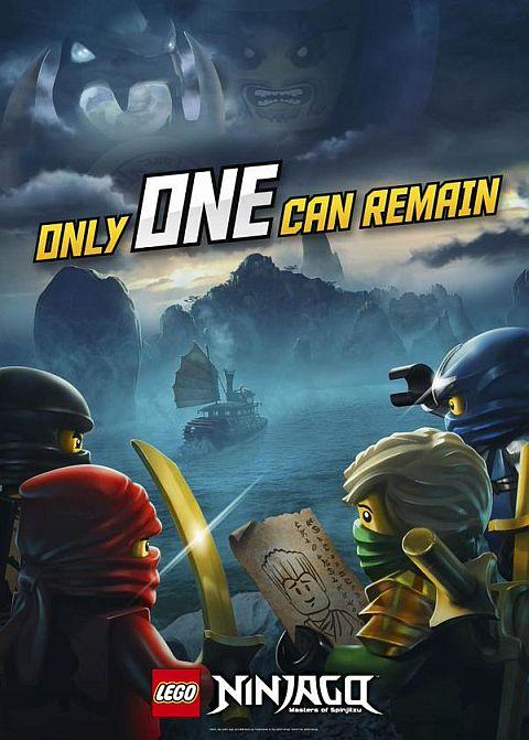 LEGO Ninjago 2015 Poster