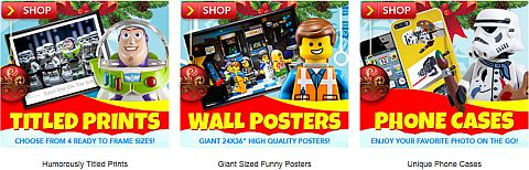 LEGO Posters by SillyBrickPics