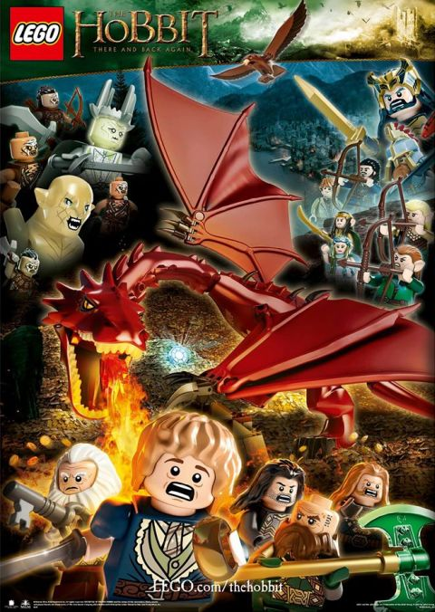 LEGO The Hobbit Poster 2