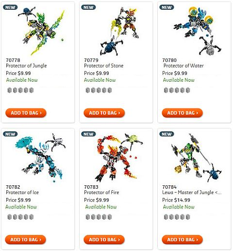 Shop 2015 LEGO Bionicle