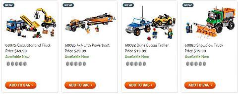 Shop 2015 LEGO City Sets