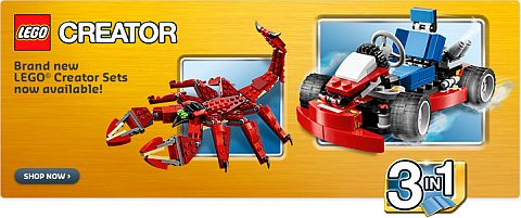 Shop 2015 LEGO Creator Sets