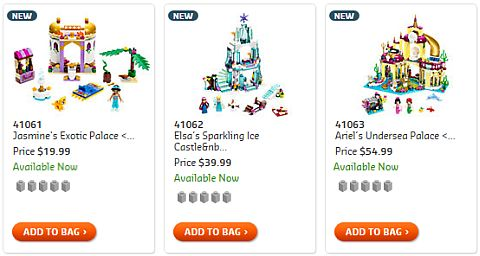 Shop 2015 LEGO Disney Princess