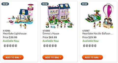 Shop 2015 LEGO Friends