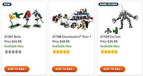 Shop 2015 LEGO Ideas