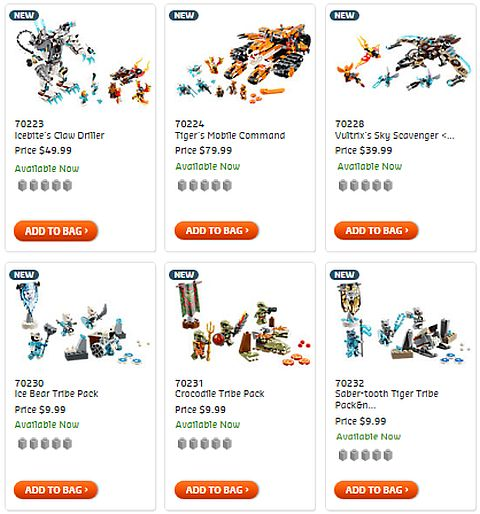 Shop 2015 LEGO Legends of Chima