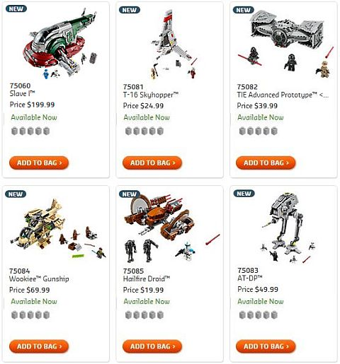 Shop 2015 LEGO Star Wars