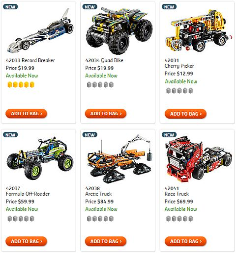 Shop 2015 LEGO Technic