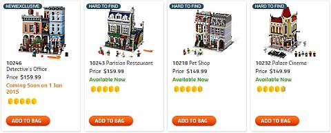 Shop LEGO Modular Buildings