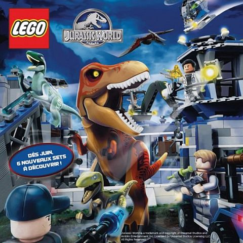 2015 LEGO Jurasssic World