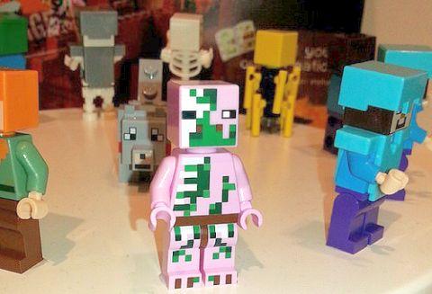 2015 LEGO Minecraft Minifigs