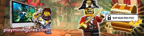 2015 LEGO Pirates Game Code