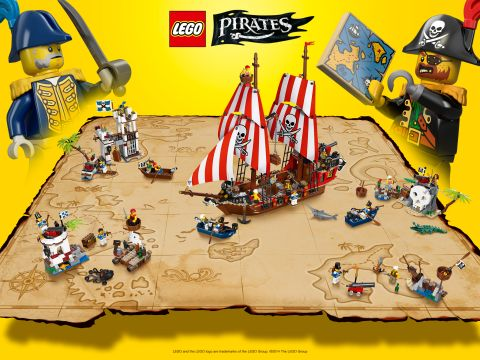 2015 LEGO Pirates Map