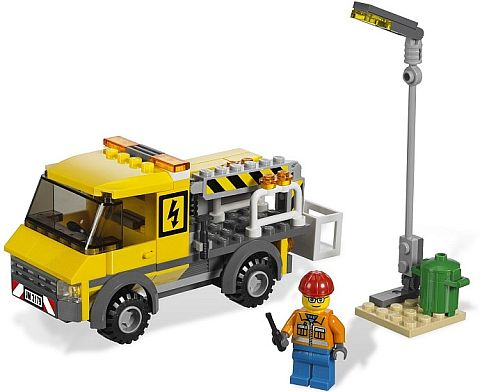 #3179 LEGO Street Light Repair Truck