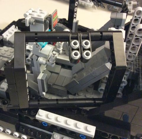 #76023 LEGO UCS Tumbler Review Frame 3