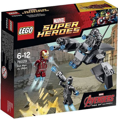 #76029 LEGO Marvel Super Heroes Box