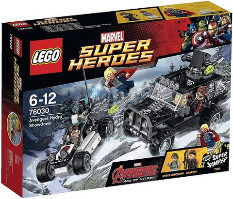 #76030 LEGO Marvel Super Heroes Box