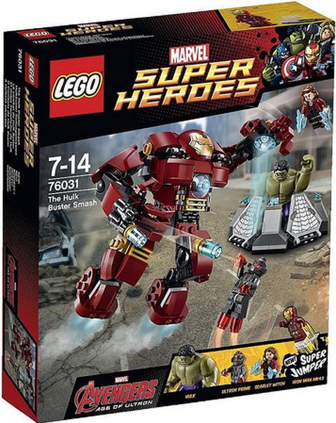 #76031 LEGO Marvel Super Heroes Box