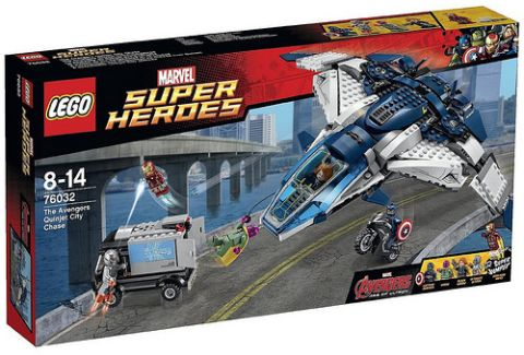 #76032 LEGO Marvel Super Heroes Box