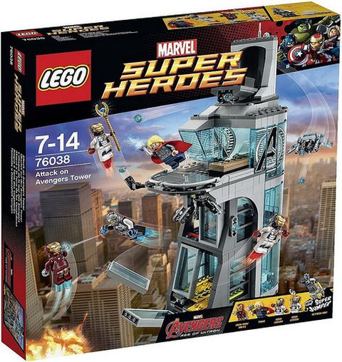 #76038 LEGO Marvel Super Heroes Box
