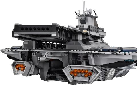#76042 LEGO SHIELD Helicarrier Back