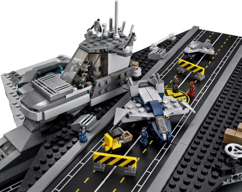 #76042 LEGO SHIELD Helicarrier Detail