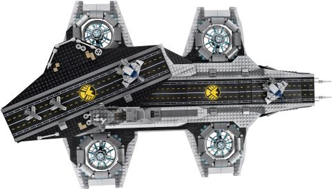 #76042 LEGO SHIELD Helicarrier Overview