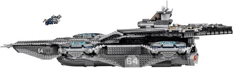 #76042 LEGO SHIELD Helicarrier Side